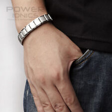 Power Ionics Titanium Nano Energy 80 Germanium Balls Bracelet Wristband PG002