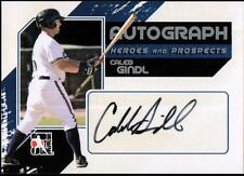 ET 2011 ITG Heroes and Prospects Full Body Autographs Silver #CGI Caleb Gindl HN