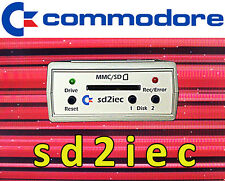 SD2IEC SD Card Reader for Commodore 64 ,1541 Disk Drive Emulator C64