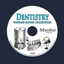 Dentistry Vintage Books Collection 65 PDF E-Books on 1 DVD Tooth Dental Denture