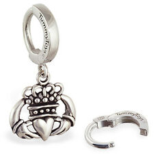 TummyToys Irish Claddagh Belly Button Ring Sexy snap on body jewelry Celtic love