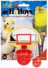 JW's Insight Activitoys BASKETBALL- cockatiel size toy