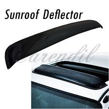 35 Inch 880mm SunRoof Moon Deflector Visor Smoke Black #R15 JDM Rain Wind Guard