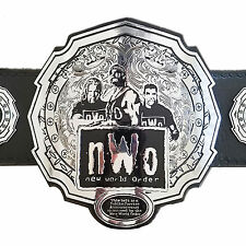 nWo New World Order Championship Replica Title Belt - Zinc Metal Plates