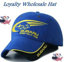 New SUBARU Racing Baseball Cap Hat Motorsport outdoor sport Adjustable WRX STI