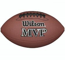 NEW Wilson MVP American Official Size Football - Cheap Soft NFL Park Fan Ball