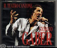 GIORGIO GABER - IL TEATRO CANZONE (CD DOPPIO BOX) Carosello