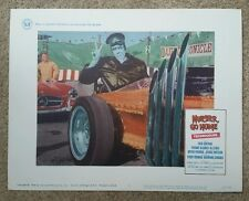 MUNSTER, GO HOME THE MUNSTERS lobby card 2 1966 original dragula hot rod monster