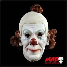 Deluxe CIRCUS CLOWN Latex Collectors Mask - Halloween / Horror SCARY Creepy