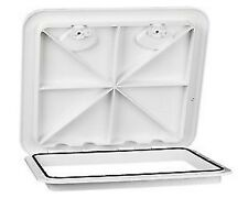 "Awesome! MARINE BOAT DECK HATCH ACCESS HATCH & LID 20"" x 18"" - WHITE AMARINE"