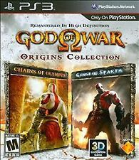 PLAYSTATION 3 PS3 GAME GOD OF WAR ORIGINS COLLECTION BRAND NEW & SEALED