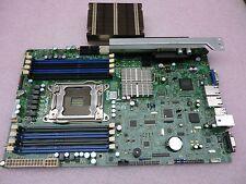 Supermicro X9SRW-F LGA2011, Intel C602,DDR3 SATA3 6Gbps Motherboard + Heatsink