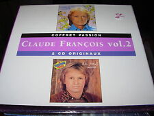 CLAUDE FRANCOIS coffret passion vol. 2 -  2 cd box set - SEALED / NEW -