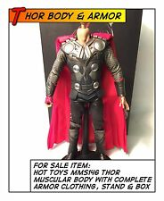 HOT TOYS Thor Muscular Body with Complete Armor Clothing MMS146 1/6 12 in scale