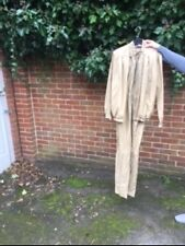 LADIES TWO PIECE JUMP SUIT , BOILER SUIT,ALL IN ONE! size 12 vintage  1980's