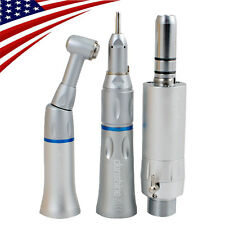 Dental Low Speed Handpiece 2H E-type air motor Straight Contra Cartridge Fit NSK