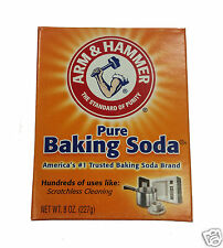 3 x Arm & Hammer Pure Baking Soda for Cleaning 227g 8 OZ Box Arm&Hammer