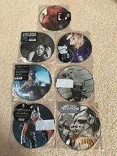 "LADY GAGA 7 PICTURE DISCS 7"" VINYL LTD EDITION NEVER PLAYED PLASTIC SLEEVES"