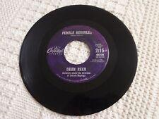 DEAN REED FEMALE HERCULES/LA NOVIA  CAPITOL 4608