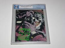 Batman: The Killing Joke PGX 10 Platinum MINT-Gem Green Tittle 1st Print Not-9.8
