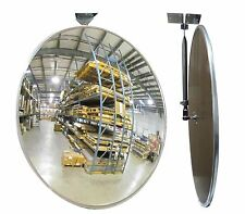 "#1 Industrial Rated 30"" Acrylic Indoor/Outdoor Safety & Security Convex Mirror"