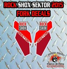 ROCK SHOX SEKTOR 2015 FORK Stickers Decals Graphics Mountain Bike Down Hill MTB
