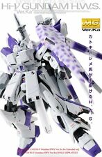 BANDAI MG 1/100 Hi-V Nu Gundam Ver Ka HWS Extended SET for FA-93-V2 Model Master