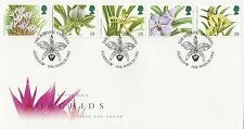 (88049) CLEARANCE GB FDC Orchids - Glasgow Botanic Gardens 19 Jan 1993