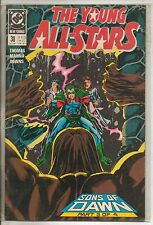 DC Comics Young All Stars #30 October 1989 NM-