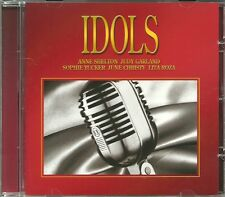 IDOLS CD - ANNE SHELTON, JUDY GARLAND, SOPHIE TUCKER, JUNE CHRISTY, LITA ROZA