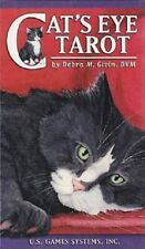 Cats Eye Tarot Deck Cards Wiccan Pagan Metaphysical