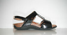 $130 Dr. Andrew Weil Sonora  Orthaheel Black Leather Shoe sz 5M/W Made in Spain
