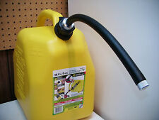 SPOUT FITS SCEPTER FUEL JUGS, 4 GALLONS A MINUTE, EXTRA HEAVY DUTY