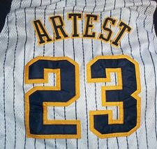 Ron Artest Indiana Pacers #23 Jersy Size 60 Big & Tall VTG Large ++ NBA Baller