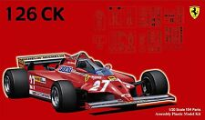 Fujimi GP04 1/20 F1 Ferrari 126CK Spain/ Canada GP from Japan