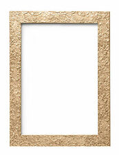 TEXTURED FLAT FRAME  PHOTO PICTURE POSTER FRAME GOLD BLACK WALNUT SILVER  A4  A3