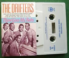 The Drifters There Goes My Baby inc Dance With Me + Cassette Tape - TESTED