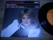 "BONNIE TYLER ""HERE I AM / DONT STOP THE MUSIC"" 1978 7 INCH SINGLE GERMAN PRESS**"