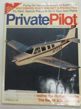 Private Pilot Magazine Piston Parade The Beech A36 May 1991 FAL 060815R