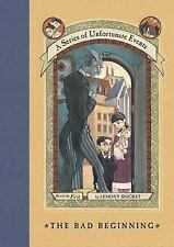 Series of Unfortunate Events: The Bad Beginning Book 1 by Lemony Snicket 1999 HC