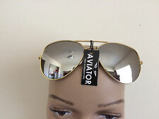 NEW  RETRO AVIATOR VINTAGE FASHION SUNGLASSES GOLDEN FRAME GLASSES
