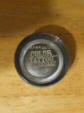 1 tattoo MAYBELLINE COLOR TATTOO eyestudio 24HR EYE SHADOW 15 AUDACIOUS ASPHALT
