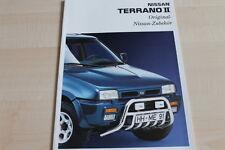 117882) Nissan Terrano II - Zubehör - Prospekt 07/1993