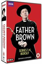 Father Brown: Complete Series 1+2+3+4 [BBC] (DVD)~~~Mark Williams~~~NEW & SEALED