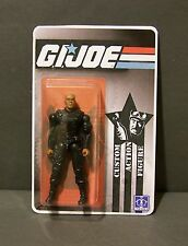 "Custom GI Joe figure and short card of ""Young Nick Fury"" from AVENGERS"