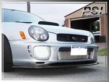 2001-2002 Subaru WRX STI GDA DP Type Carbon Fiber Front Add-On Lip Sedan