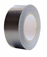 50m Metre Silver Gaffa Gaffer Duck Duct Tape 50m x 48mm Strong Waterproof Cloth