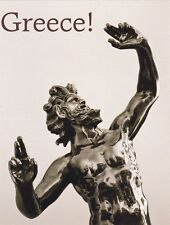 "*Postcard-""Greece!""...Zeus, Greek God""  ...Classic-"