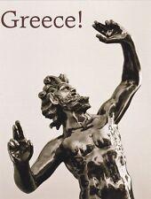 """*Postcard-""""Greece!""""...Zeus, Greek God""""  ...Classic-"""