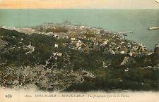 Monaco, Monte-Carlo, Cote D'Azur (French Riviera), Early Postcard